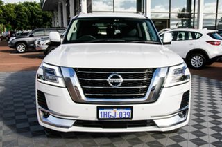 2020 Nissan Patrol Y62 Series 5 MY20 TI-L White 7 Speed Sports Automatic Wagon