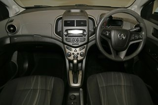 2012 Holden Barina TM White 6 Speed Automatic Sedan