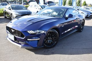 2020 Ford Mustang FN 2020MY GT Blue 6 Speed Manual Fastback.