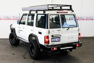 2008 Toyota Landcruiser VDJ76R Workmate (4x4) French Vanilla 5 Speed Manual Wagon.