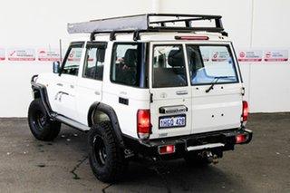 2008 Toyota Landcruiser VDJ76R Workmate (4x4) French Vanilla 5 Speed Manual Wagon.