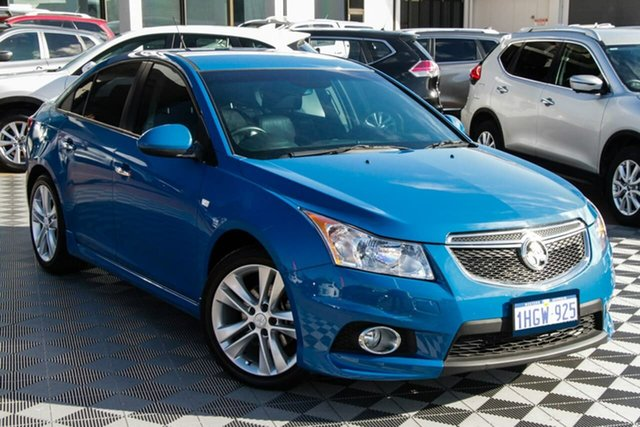 Used Holden Cruze JH Series II MY13 SRi-V Attadale, 2013 Holden Cruze JH Series II MY13 SRi-V Blue 6 Speed Sports Automatic Sedan