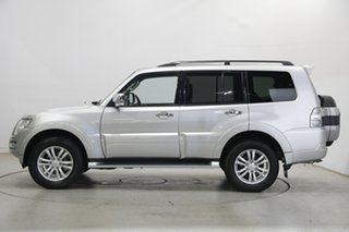 2017 Mitsubishi Pajero NX MY18 GLS Silver 5 Speed Sports Automatic Wagon.