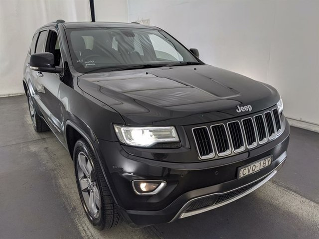 Used Jeep Grand Cherokee WK MY2014 Limited Maryville, 2013 Jeep Grand Cherokee WK MY2014 Limited Black 8 Speed Sports Automatic Wagon