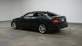 2013 Mercedes-Benz C-Class C204 MY13 C350 7G-Tronic + Black 7 Speed Sports Automatic Coupe.