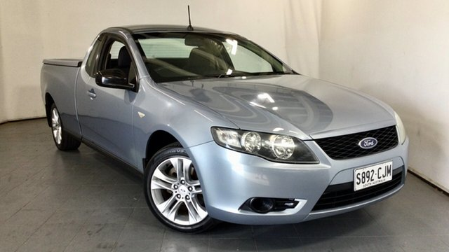 Used Ford Falcon FG Ute Super Cab Elizabeth, 2008 Ford Falcon FG Ute Super Cab Silver 4 Speed Sports Automatic Utility