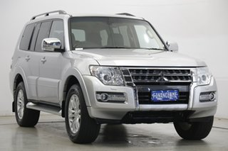 2017 Mitsubishi Pajero NX MY18 GLS Silver 5 Speed Sports Automatic Wagon