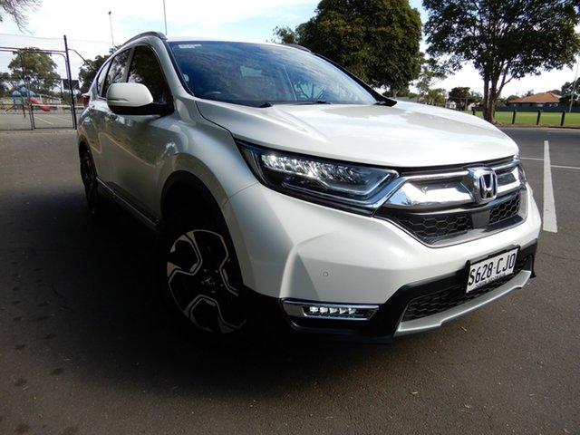 Used Honda CR-V RW MY18 VTi-LX 4WD Glenelg, 2018 Honda CR-V RW MY18 VTi-LX 4WD White 1 Speed Constant Variable Wagon