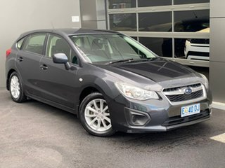 2014 Subaru Impreza G4 MY14 2.0i Lineartronic AWD Grey 6 Speed Constant Variable Hatchback