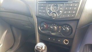 2012 Mazda BT-50 XT (4x4) NO Diff Locks Grey 6 Speed Manual Dual Cab Chassis
