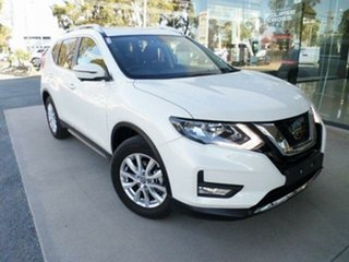 2020 Nissan X-Trail T32 MY20 ST-L (4x2) White Continuous Variable Wagon.