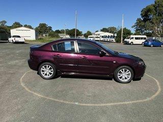2006 Mazda 3 BK10F1 Maxx Sport Purple 4 Speed Sports Automatic Sedan.