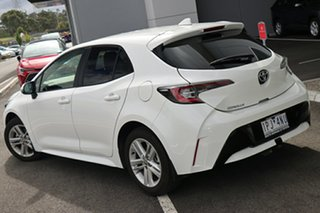 2019 Toyota Corolla Mzea12R Ascent Sport i-MT Glacier White 6 Speed Manual Hatchback.