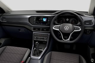 2021 Volkswagen T-Cross C1 MY21 85TSI DSG FWD Style Black 7 Speed Sports Automatic Dual Clutch Wagon.