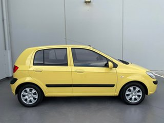 2009 Hyundai Getz TB MY09 S Yellow 4 Speed Automatic Hatchback.