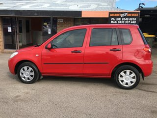 2005 Mazda 2 DY10Y1 Neo Red 5 Speed Manual Hatchback