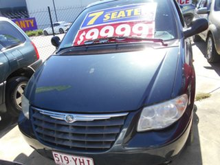 2007 Chrysler Grand Voyager RG 4th Gen MY07 LX Signature Blue 4 Speed Automatic Wagon.