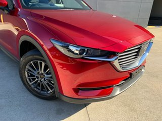 2021 Mazda CX-8 KG2WLA Sport SKYACTIV-Drive FWD Soul Red Crystal 6 Speed Sports Automatic Wagon.