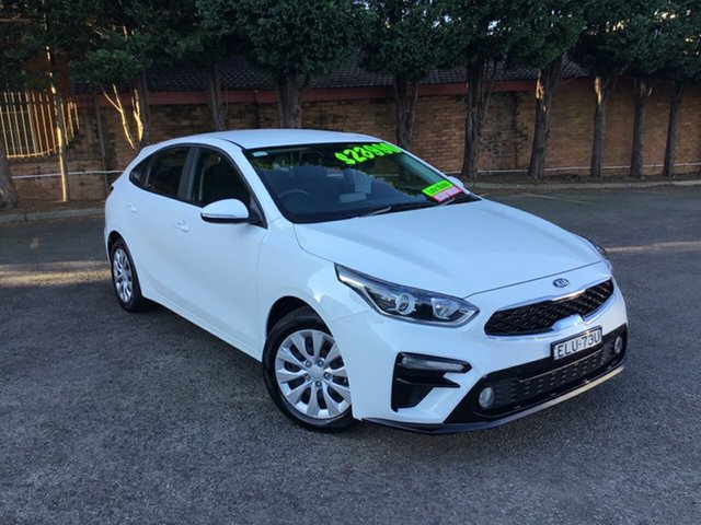 Used Kia Cerato BD MY20 S Hornsby, 2020 Kia Cerato BD MY20 S White 6 Speed Sports Automatic Hatchback