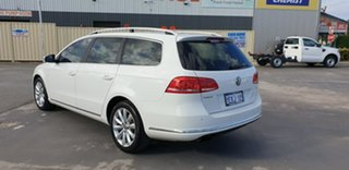 2012 Volkswagen Passat Type 3C MY12.5 118TSI DSG White 7 Speed Sports Automatic Dual Clutch Wagon.