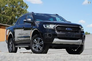 2019 Ford Ranger PX MkIII 2020.25MY Wildtrak Black 10 Speed Sports Automatic Double Cab Pick Up.