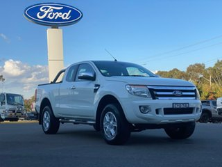 2015 Ford Ranger XLT - Hi-Rider White Sports Automatic Utility - Extended Cab.