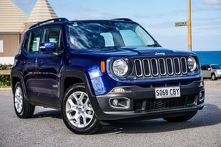 2017 Jeep Renegade BU MY17 Longitude DDCT Blue 6 Speed Sports Automatic Dual Clutch Hatchback.