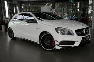 2013 Mercedes-Benz A-Class W176 A45 AMG SPEEDSHIFT DCT 4MATIC White 7 Speed.