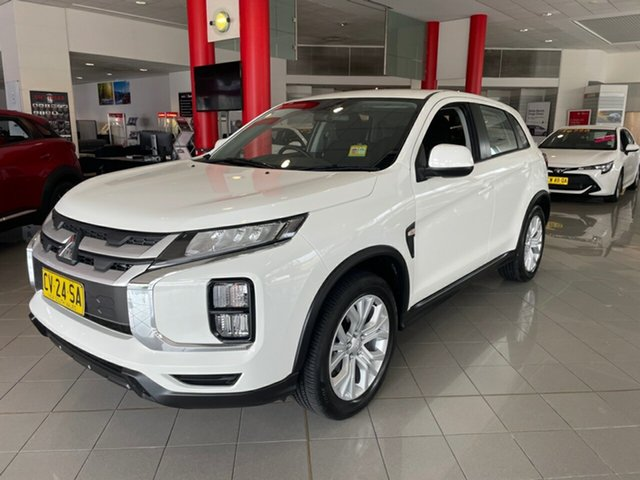 Used Mitsubishi ASX XC MY19 ES 2WD Artarmon, 2019 Mitsubishi ASX XC MY19 ES 2WD White 1 Speed Constant Variable Wagon