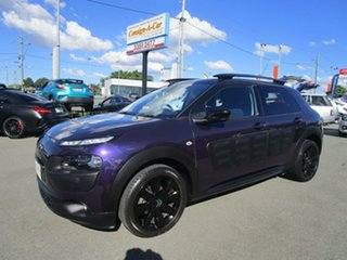 2015 Citroen C4 Cactus E3 MY16 Exclusive ETG Purple 6 Speed Sports Automatic Single Clutch Wagon.