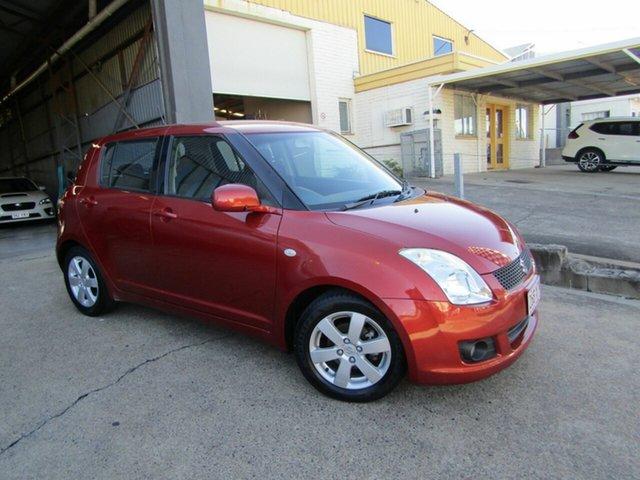 Used Suzuki Swift RS415 S Moorooka, 2009 Suzuki Swift RS415 S Orange 4 Speed Automatic Hatchback