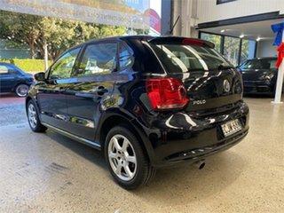 2012 Volkswagen Polo 6R 77TSI Comfortline Black Sports Automatic Dual Clutch Hatchback