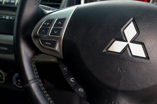 2010 Mitsubishi Lancer CJ MY11 ES Black 6 Speed Constant Variable Sedan