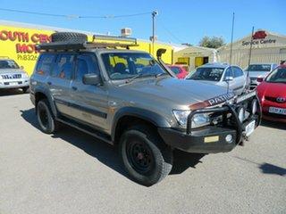 2002 Nissan Patrol GU III ST Plus (4x4) Gold 5 Speed Auto Sports Shift Wagon.