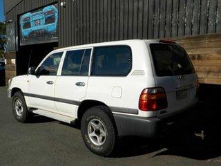 1998 Toyota Landcruiser HZJ105R GXL White 4 Speed Automatic Wagon