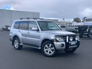 2007 Mitsubishi Pajero NS VR-X Silver 5 Speed Sports Automatic Wagon.