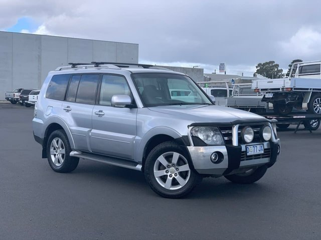 Used Mitsubishi Pajero NS VR-X Moonah, 2007 Mitsubishi Pajero NS VR-X Silver 5 Speed Sports Automatic Wagon