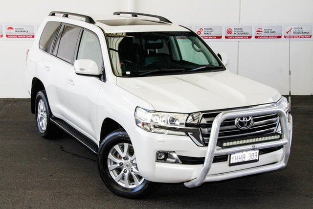 Pre-Owned Toyota Landcruiser VDJ200R MY16 VX (4x4) Myaree, 2015 Toyota Landcruiser VDJ200R MY16 VX (4x4) Crystal Pearl 6 Speed Automatic Wagon
