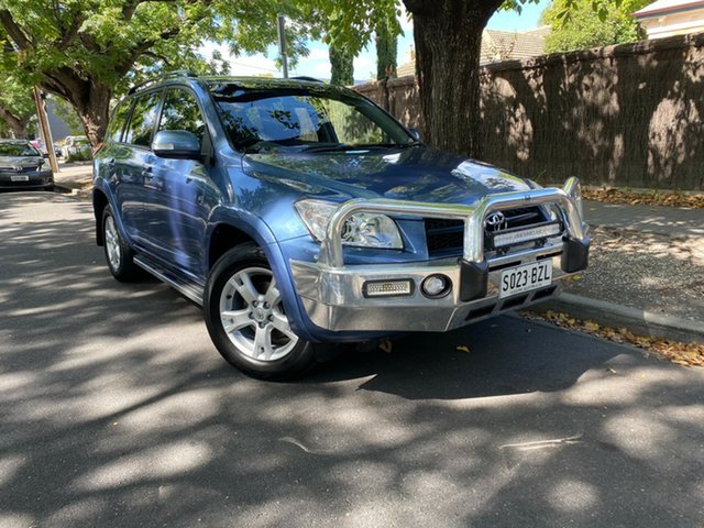 Used Toyota RAV4 ACA33R MY11 Cruiser Hawthorn, 2011 Toyota RAV4 ACA33R MY11 Cruiser Blue 5 Speed Manual Wagon