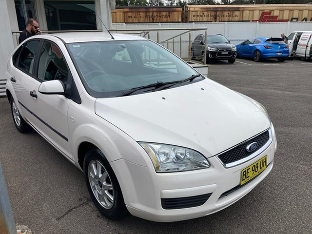 Used Ford Focus LS CL North Gosford, 2007 Ford Focus LS CL White 4 Speed Sports Automatic Hatchback