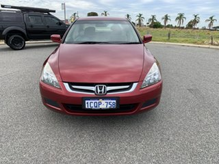 2007 Honda Accord 40 MY06 Upgrade VTi-L Sparkling Burgundy 5 Speed Automatic Sedan.