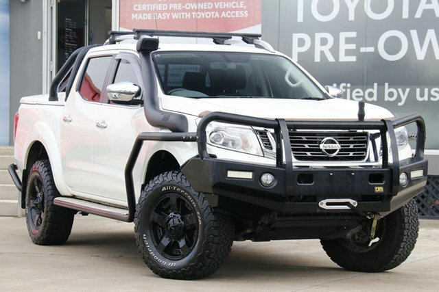 Pre-Owned Nissan Navara D23 Series II ST-X (4x4) Guildford, 2017 Nissan Navara D23 Series II ST-X (4x4) White 7 Speed Automatic Dual Cab Utility