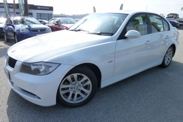 Used BMW 3 Series E90 320i Steptronic Executive Cheltenham, 2005 BMW 3 Series E90 320i Steptronic Executive White 6 Speed Automatic Sedan