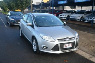 2014 Ford Focus LW MK2 MY14 Trend Silver 5 Speed Manual Hatchback.