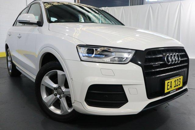 Used Audi Q3 8U MY17 TFSI S Tronic Quattro Sport Castle Hill, 2017 Audi Q3 8U MY17 TFSI S Tronic Quattro Sport White 7 Speed Sports Automatic Dual Clutch Wagon