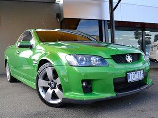 2008 Holden Ute VE SS V Green 6 Speed Manual Utility.