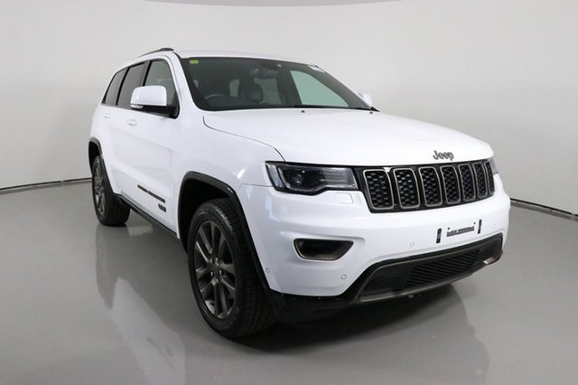 Used Jeep Grand Cherokee WK MY16 75th Anniversary (4x4) Bentley, 2016 Jeep Grand Cherokee WK MY16 75th Anniversary (4x4) White 8 Speed Automatic Wagon