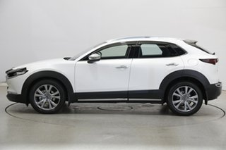 2020 Mazda CX-30 DM2W7A G20 SKYACTIV-Drive Touring Pearl White 6 Speed Sports Automatic Wagon.