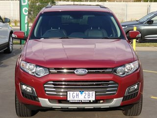 2015 Ford Territory SZ MkII Titanium Seq Sport Shift Red 6 Speed Sports Automatic Wagon.