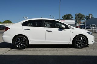 2014 Honda Civic 9th Gen Ser II MY14 VTi-S Glacier White 5 Speed Sports Automatic Sedan